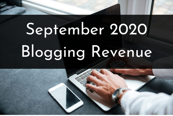 September 2020 Revenue Report